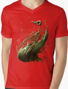 Death Penguin Mens V-Neck T-Shirt