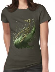 Death Penguin Womens Fitted T-Shirt