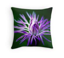 Pure Purple Throw Pillow