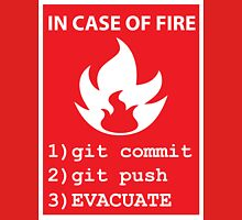 commit, push, EVACUATE Unisex T-Shirt