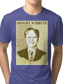 Dwight Schrute v.2 Tri-blend T-Shirt