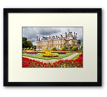 National Trust Waddesdon Manor House Framed Print