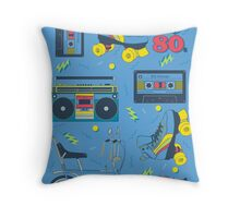 I Miss The 80s Throw Pillow