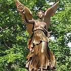 War memorial with Goddess of victory by orko