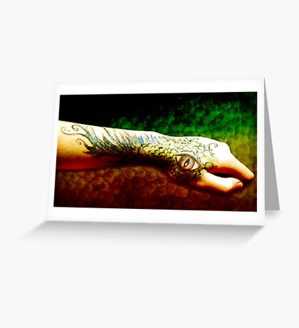 Mark of the Dragon I Greeting Card