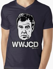 Top Gear - WWJCD What Would Jeremy Clarkson Do? Mens V-Neck T-Shirt