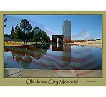Oklahoma City Memorial Photographic Print