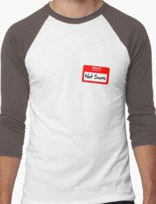 Not Sure... Men's Baseball ¾ T-Shirt