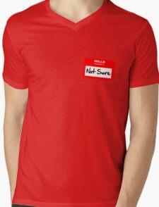 Not Sure... Mens V-Neck T-Shirt