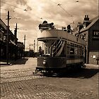 Trammed - A Tram at Beamish Museum by angelimagine
