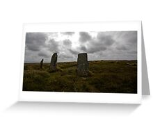 Nine Cornish Maidens Greeting Card