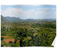Vinales Valley, the Cuban countryside Poster