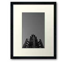 Looking Up - Manchester Unity Building Framed Print
