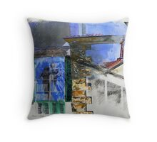 Arezzo - Italian Memory Drawing Throw Pillow