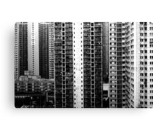 Stark, Hong Kong Canvas Print