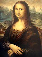 copy of the Mona Lisa.. by Almeida Coval