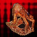 leather mask by Luisa Fumi