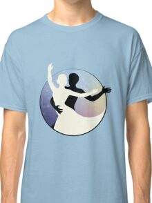 Black and White Dancers Classic T-Shirt