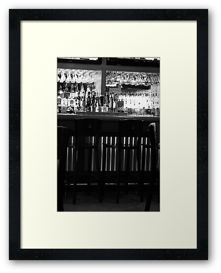 the bar by Hope A. Burger