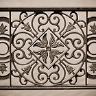 ornamental railings of the bridge of wrought iron by Valerii Kotulskyi
