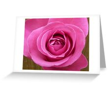 Layers of pink. Greeting Card