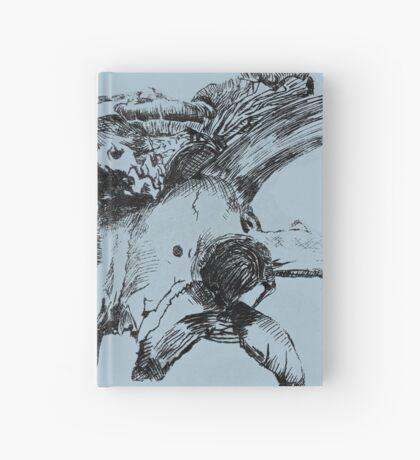 Skulls and Mushrooms Hardcover Journal