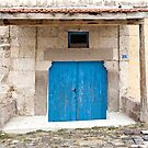 Rustic Door No. 6 by Glennis  Siverson