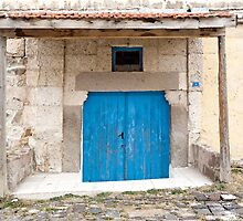 Rustic Door No. 6 by Glennis  Siverson