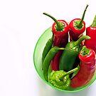 chilli pot by Michelle McMahon