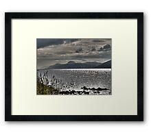 Loch Ness HDR Framed Print