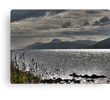 Loch Ness HDR Canvas Print