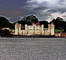 Upnor castle by blindluck
