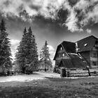 Mountain Hostel Rysianka - Beskid mountains, Poland by Bartosz Chajek