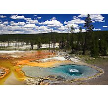 Firehole Spring Photographic Print