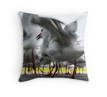 Gulls Throw Pillow