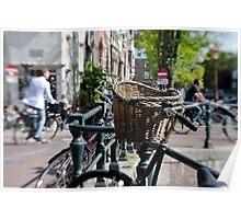 Amsterdam: Bikes Poster