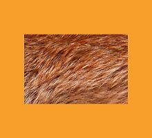 Red fox rough fur texture cloth abstract T-Shirt