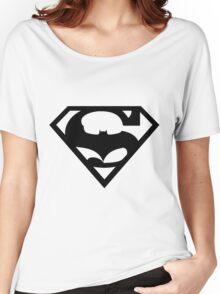 Bat v Super Mans Women's Relaxed Fit T-Shirt