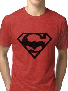 Bat v Super Mans Tri-blend T-Shirt
