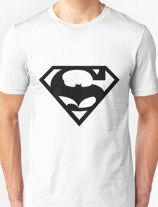 Bat v Super Mans Unisex T-Shirt