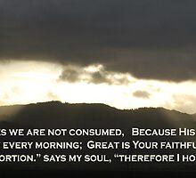 Lamentations 3:22-24 by Syd Bates