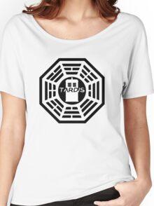 Dharma TARDIS Logo Women's Relaxed Fit T-Shirt