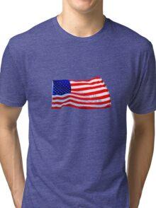 Old Glory Tri-blend T-Shirt