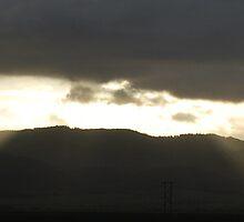 Eastern Hills Sunrise, Diamond Hill Road, Oregon by Syd Bates