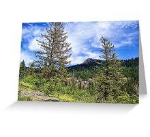Hall Peak (Bob Marshall Wilderness, Montana, USA) Greeting Card