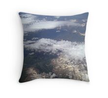 Flying part 9 Throw Pillow