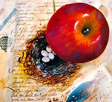 I Sent an Apple to my Love... by ©Janis Zroback