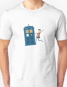 Doctor and The Tardis Unisex T-Shirt