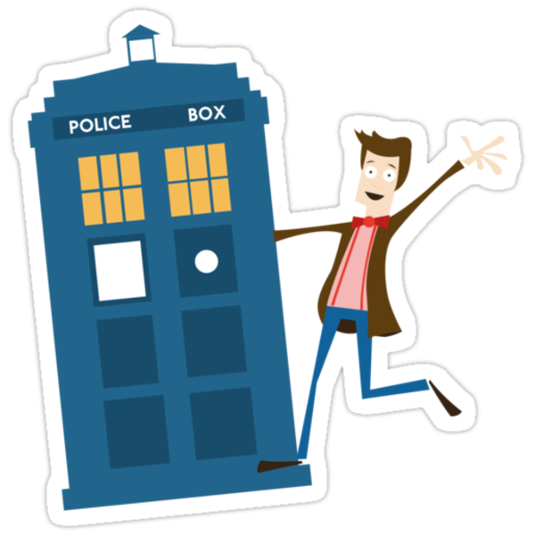 Doctor and The Tardis by Jonny Eveson