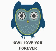 Owl Love You Forever One Piece - Short Sleeve